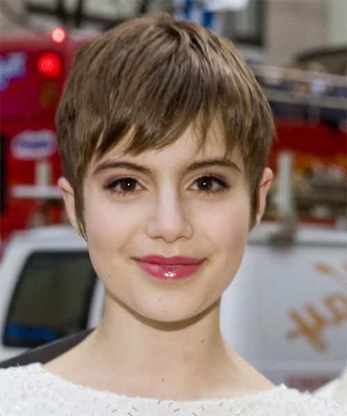 Sami Gayle'S Short Hairstyle Ideas Intended For Current Short Straight Pixie Haircuts (View 13 of 20)