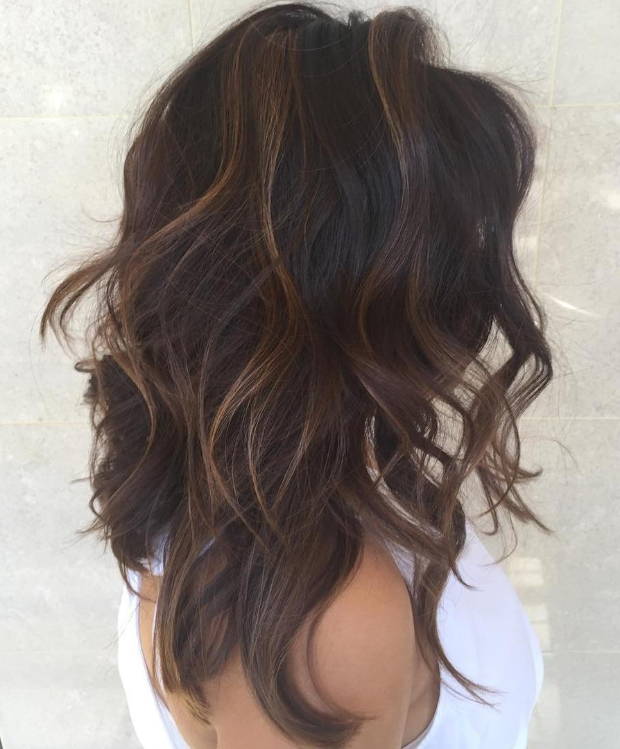 Shag Haircuts And Hairstyles In 2018 — Therighthairstyles Throughout Widely Used Shaggy Hairstyles For Wavy Hair (View 13 of 15)