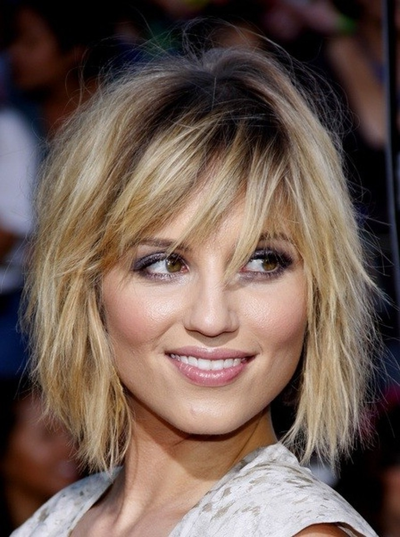 Shaggy Bob Hairstyle Short Straight Human Hair Women Wigs 10 Pertaining To Preferred Shaggy Crop Hairstyles (View 12 of 15)