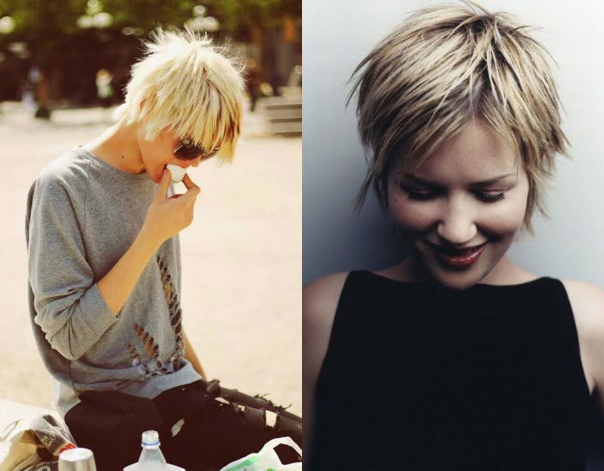 Featured Photo of Short Shaggy Bob Hairstyles