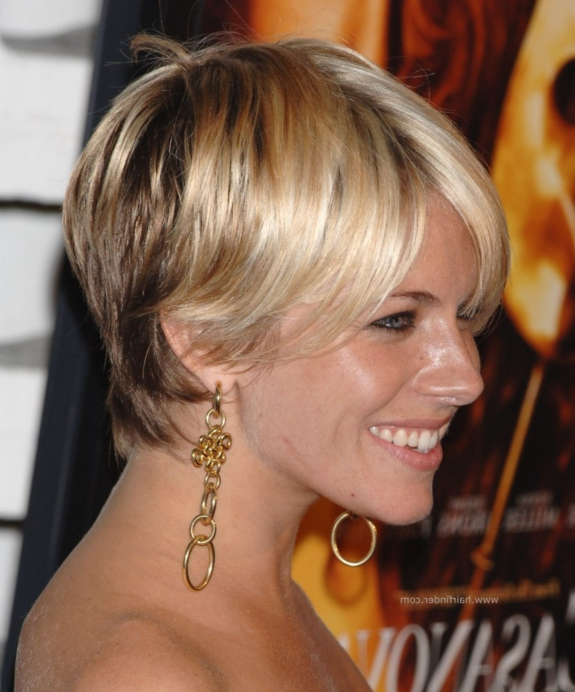 Shaggy Pixie Hairstyle, Razor Cut And With Bangs (View 12 of 15)