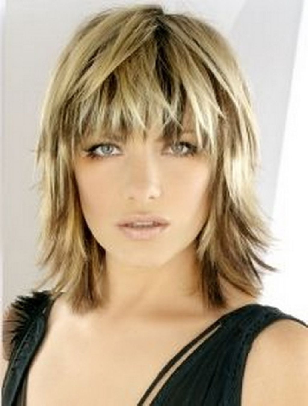 Shaggy Shoulder Length Haircut 1000+ Images About Hairstyles On Inside Most Recently Released Shaggy Wispy Hairstyles (View 12 of 15)