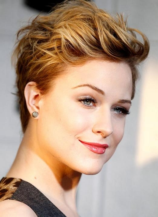 Short And Elegant Haircut That Glows In Most Recently Released Styling Pixie Haircuts (View 7 of 20)