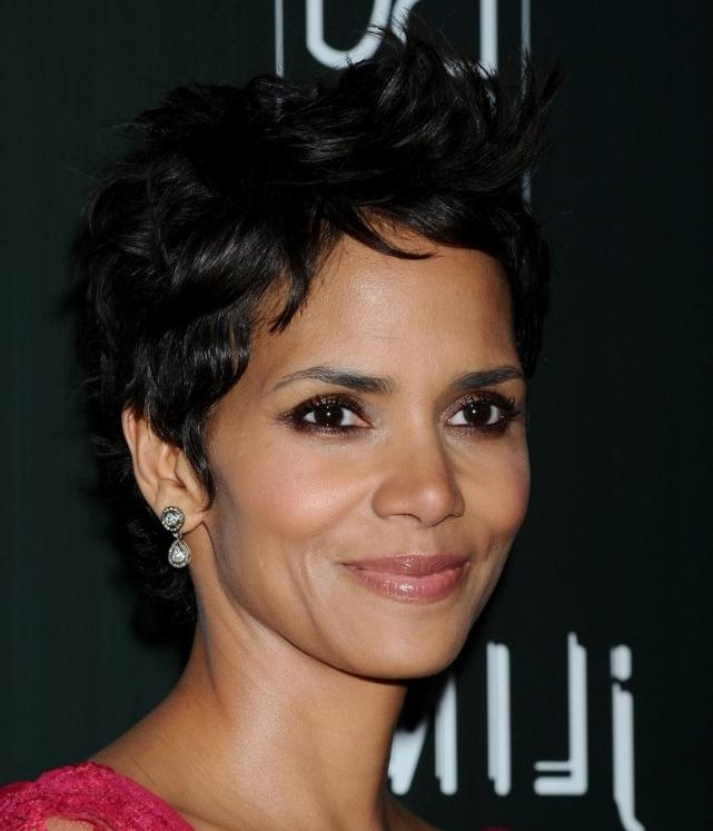 Short Black Pixie Haircut – Hairstyles Weekly Pertaining To Well Liked Pixie Haircuts For Black Hair (View 18 of 20)