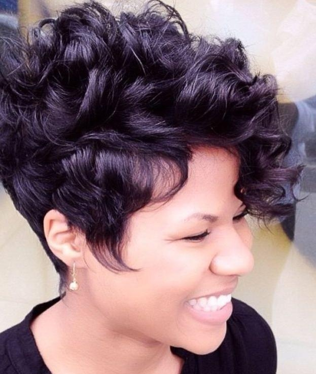 Short Curly Pixie Haircuts Very Short Curly Hairstyles Curly Short Within Latest Curly Pixie Haircuts (View 18 of 20)