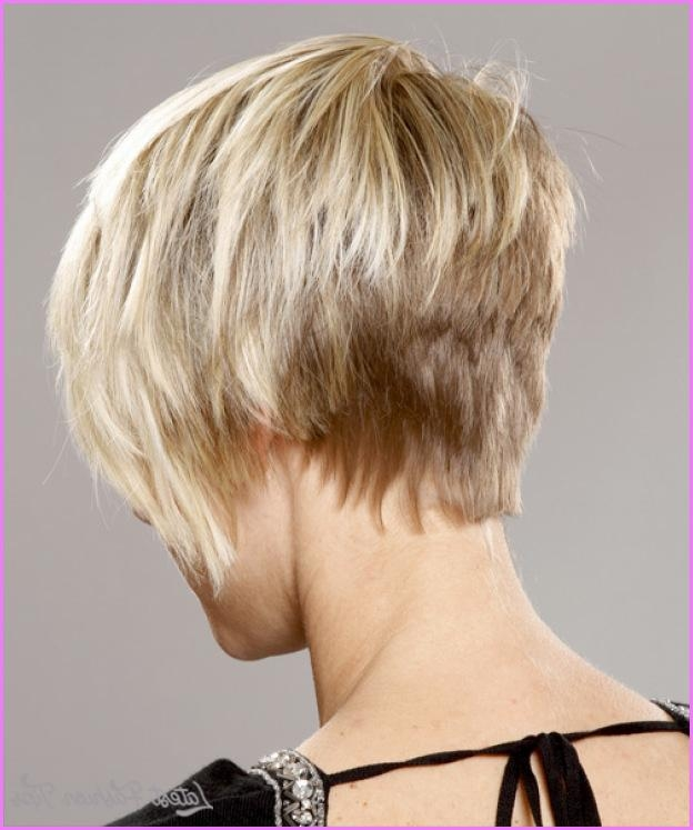 Short Haircuts Back View Stacked Archives – Latestfashiontips ® Inside Most Current Pixie Haircuts With Stacked Back (View 15 of 20)