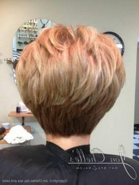 Short Haircuts Back View Stacked (View 14 of 20)