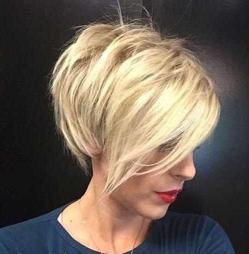 2019 Latest Long Layered Pixie Haircuts