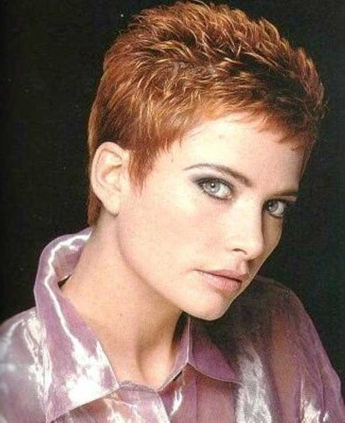 Short Hairstyles 2016 – 2017 In Famous Pixie Haircuts For Women Over (View 17 of 20)