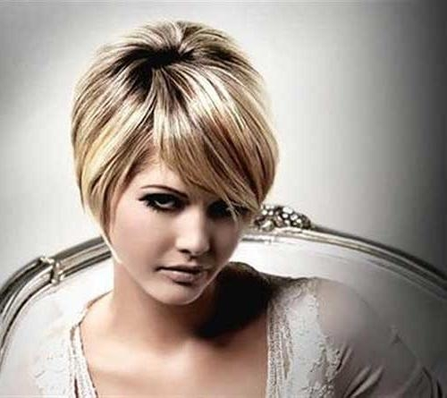 Short Hairstyles 2016 – 2017 In Newest Pixie Haircuts On Chubby Face (View 18 of 20)
