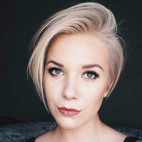 Short Hairstyles 2016 – 2017 Intended For Famous Pixie Haircuts For Oval Face Shape (View 16 of 20)