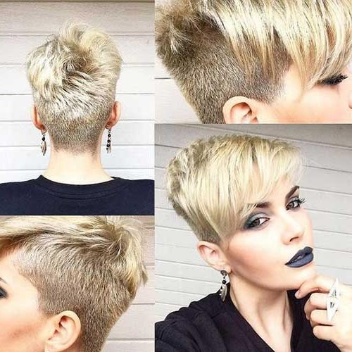 Short Hairstyles 2016 – 2017 Intended For Most Up To Date Undercut Pixie Haircuts (View 15 of 20)