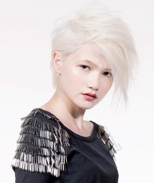 Short Hairstyles 2016 – 2017 Regarding Recent Rock Pixie Haircuts (View 19 of 20)
