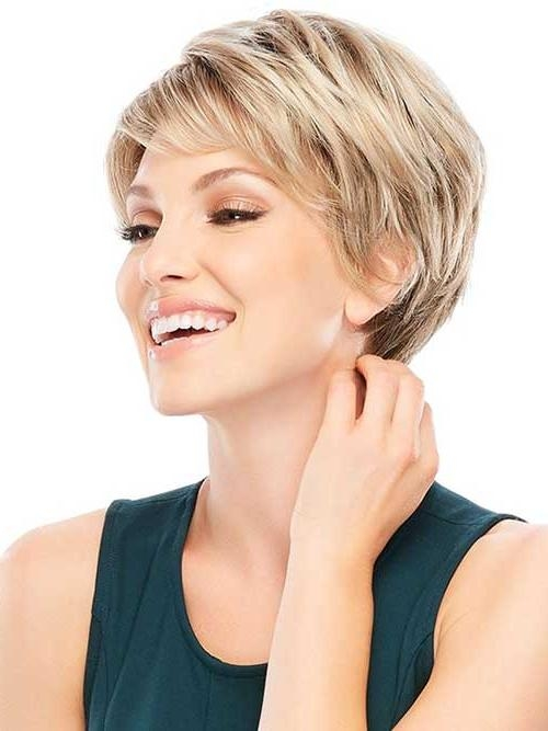 Short Hairstyles 2016 – 2017 Throughout Popular Short Pixie Haircuts For Straight Hair (View 13 of 20)