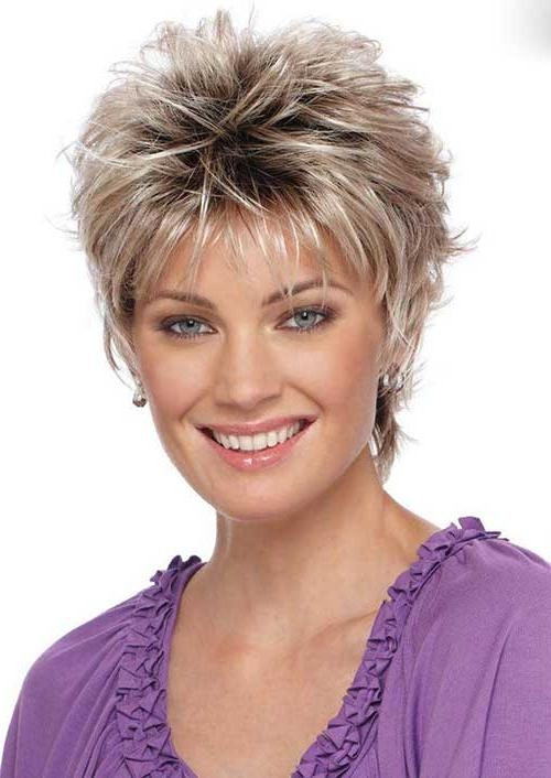 Short Hairstyles 2016 – 2017 Within Fashionable Short Pixie Haircuts For Women Over (View 4 of 20)
