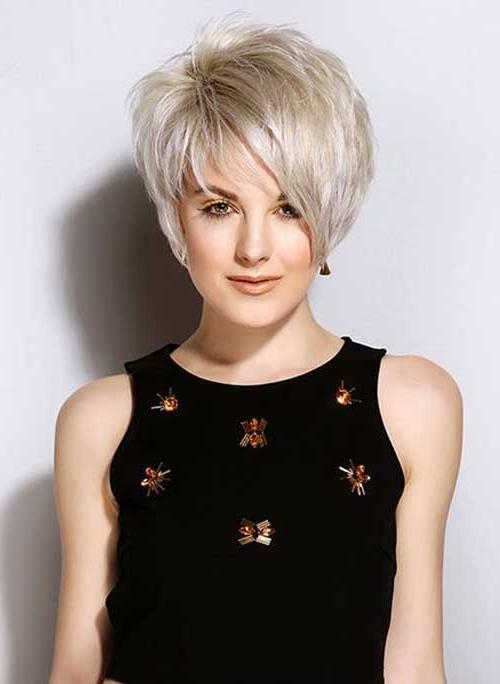 Short Hairstyles 2016 For Most Up To Date Asymmetrical Pixie Haircuts (View 16 of 20)