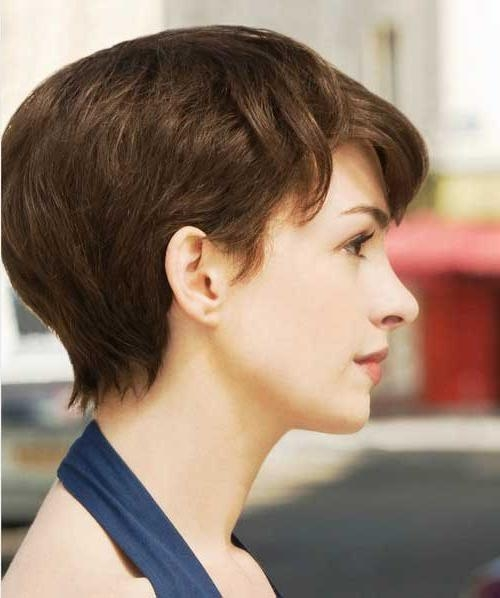 Short Hairstyles 2016 Inside Fashionable Pixie Haircuts For Straight Hair (View 17 of 20)