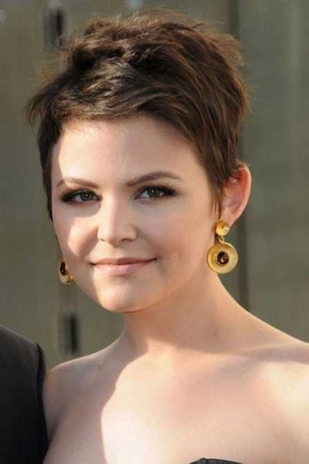 Short Hairstyles 2016 Intended For Most Current Pixie Haircuts For Round Face (View 18 of 20)