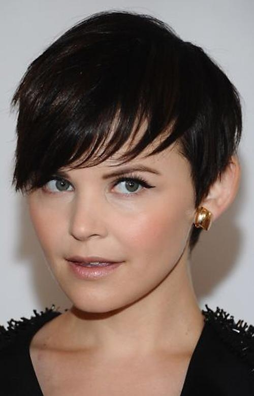 Short Hairstyles 2016 Intended For Most Popular Short Pixie Haircuts With Bangs (View 16 of 20)