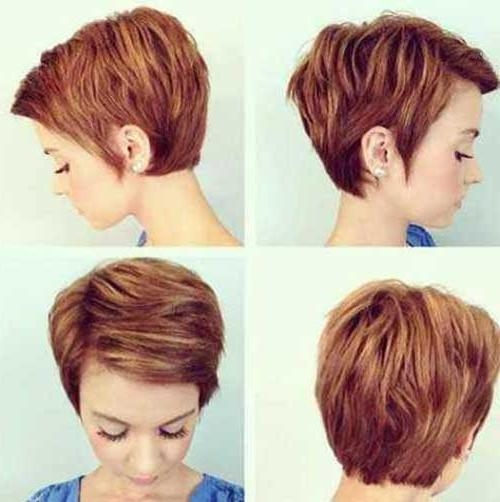 Short Hairstyles 2016 Intended For Recent Textured Pixie Haircuts (View 18 of 20)