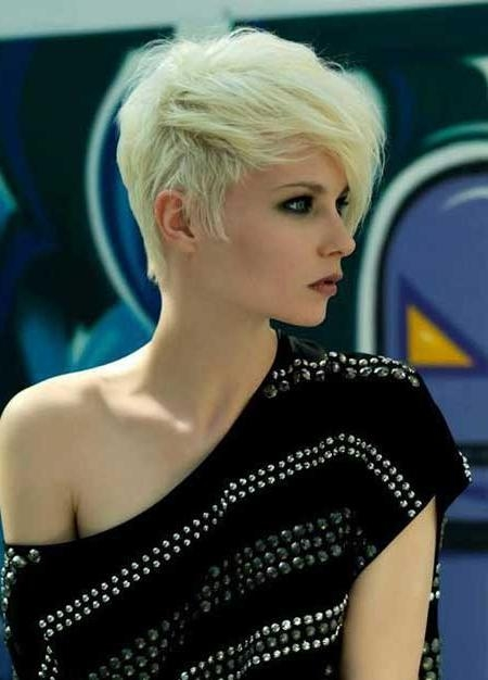 Short Hairstyles 2016 Intended For Well Known Hot Pixie Haircuts (View 15 of 20)