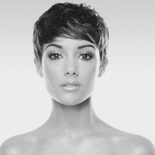 Short Hairstyles 2016 Regarding Current Cool Pixie Haircuts (View 15 of 20)