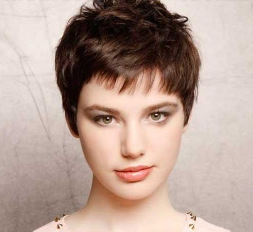 Short Hairstyles 2016 Within Preferred Short Pixie Haircuts For Straight Hair (View 16 of 20)