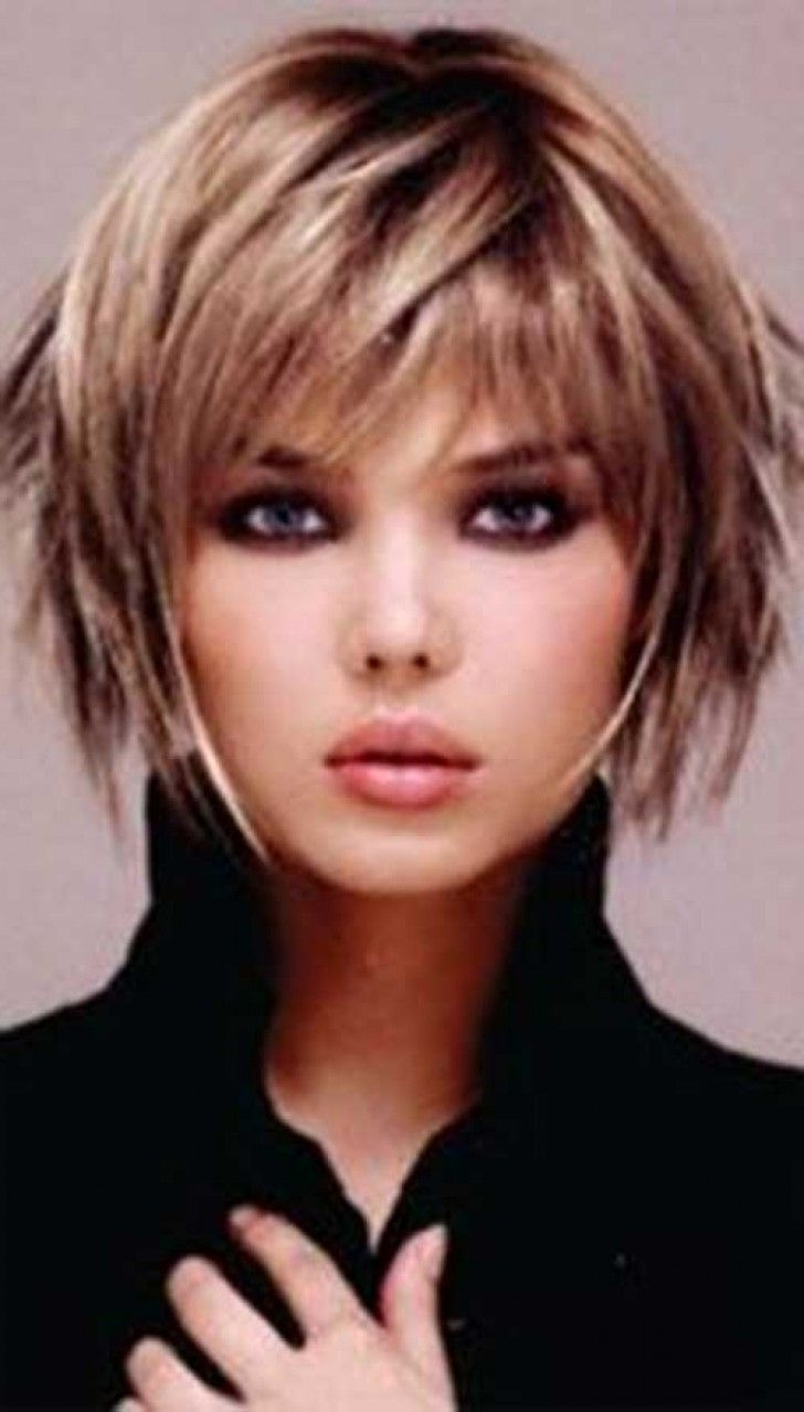 Short Hairstyles For Fine Hair 2016 Are Not Only Create A Sexy And Regarding Most Recently Released Shaggy Bob Hairstyles (View 13 of 15)