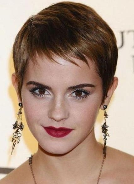 Short Hairstyles For Fine Hair Within Best And Newest Pixie Haircuts For Fine Hair (View 18 of 20)