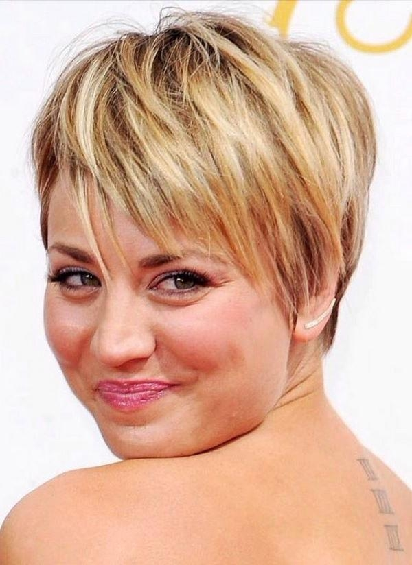 Short Hairstyles For Round Faces – Flattering And Feminine Haircut For Widely Used Pixie Haircuts On Round Faces (View 17 of 20)