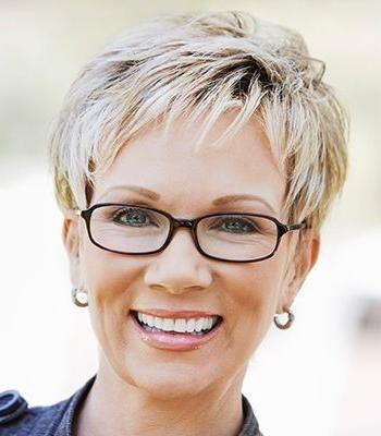 Short Hairstyles For Women Over 40 To Reveal Their Snazzy Side With Famous Pixie Haircuts For Women Over (View 15 of 20)