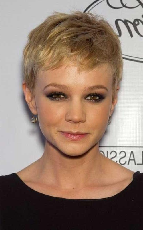Short Hairstyles & Haircuts 2017 Regarding Well Liked Short Pixie Haircuts For Thin Hair (View 11 of 20)