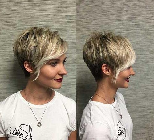 Short Hairstyles & Haircuts 2017 Throughout Current Long Pixie Haircuts For Women (View 10 of 20)