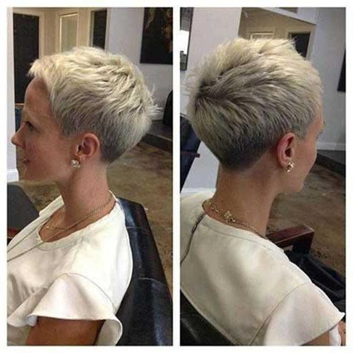 20 Inspirations Of Short Pixie Haircuts From The Back
