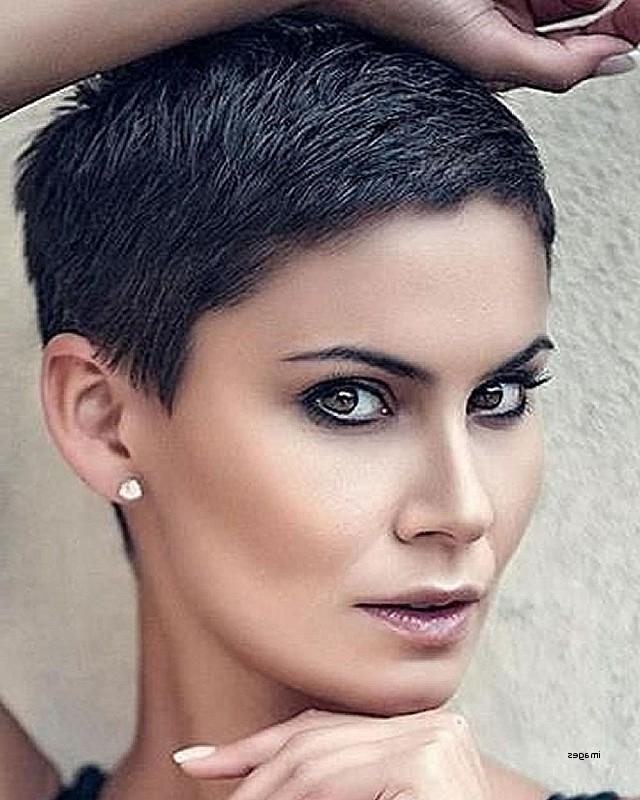 Short Hairstyles Short Cropped Hairstyles 2018 Best Of Super Very For Latest Very Short Pixie Haircuts (View 14 of 20)