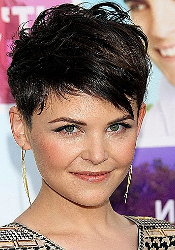 Short Hairstyles Short Hairstyles For Round Shaped Faces Elegant For Widely Used Pixie Haircuts For Round Face Shape (View 11 of 20)