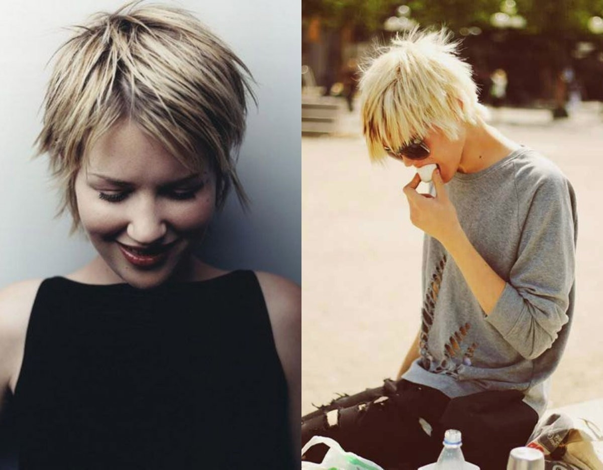Short Hairstyles : Short Shaggy Hairstyle Images And Diy For Latest Shaggy Hairstyles For Short Hair (View 14 of 15)
