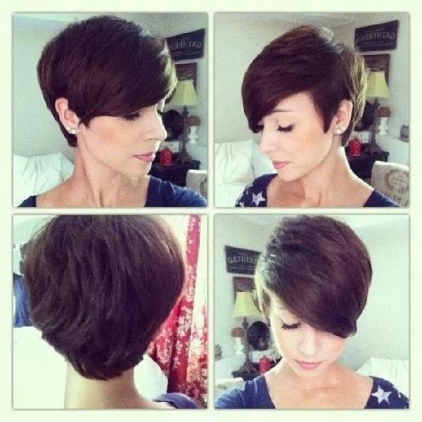 Short Pixie – 26 Hairstyles To Enhance Your Lovely Oval Shaped… In Most Recently Released Short Pixie Haircuts For Oval Faces (View 18 of 20)