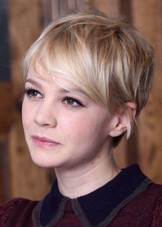 Short Pixie Cut For Thin Hair: Cute Short Hairstyle For 2014 Regarding Newest Pixie Haircuts For Fine Thin Hair (View 12 of 20)