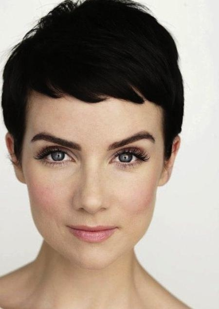 Short Pixie Haircut For Women Over 40 Intended For Most Current Short Pixie Haircuts For Women Over (View 9 of 20)