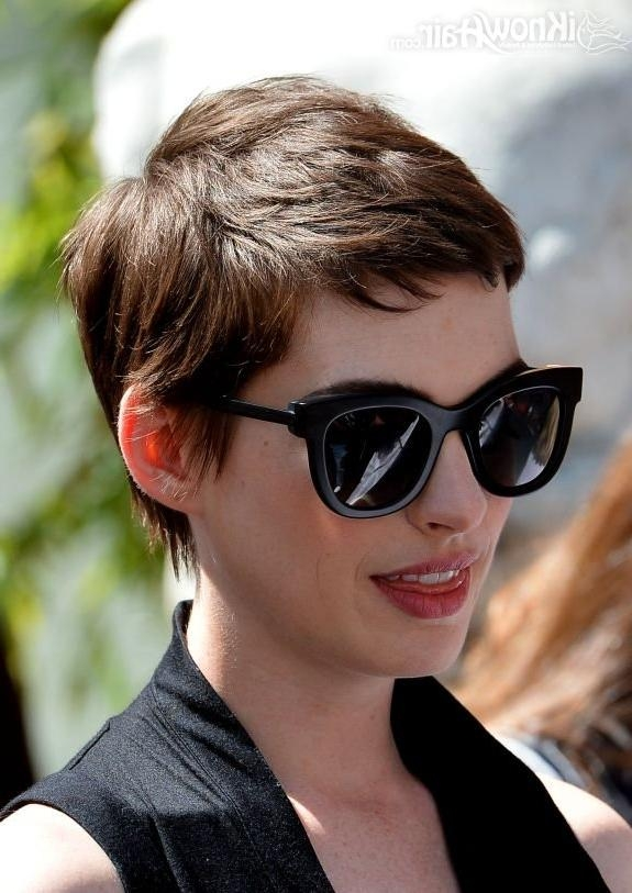 Short Pixie Haircuts 2014 With Regard To Most Current Chic Pixie Haircuts (View 17 of 20)