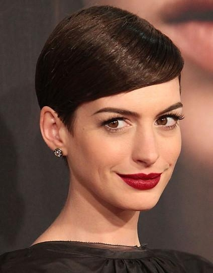 Short Pixie Haircuts For Straight Hair 2013 – Popular Haircuts Intended For Well Liked Short Pixie Haircuts For Straight Hair (View 17 of 20)
