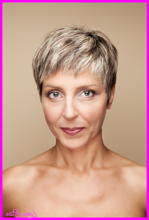 Short Pixie Haircuts For Women Over 50 Archives – Livesstar ® For Fashionable Pixie Haircuts For Women Over  (View 19 of 20)
