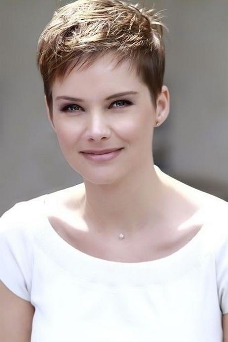 Short Pixie Hairstyles For Thick Hair Inside Well Liked Short Pixie Haircuts For Thick Hair (View 17 of 20)