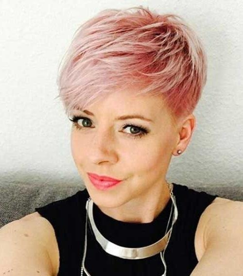 Short Pixie In Most Recently Released Short Feathered Pixie Haircuts (View 17 of 20)