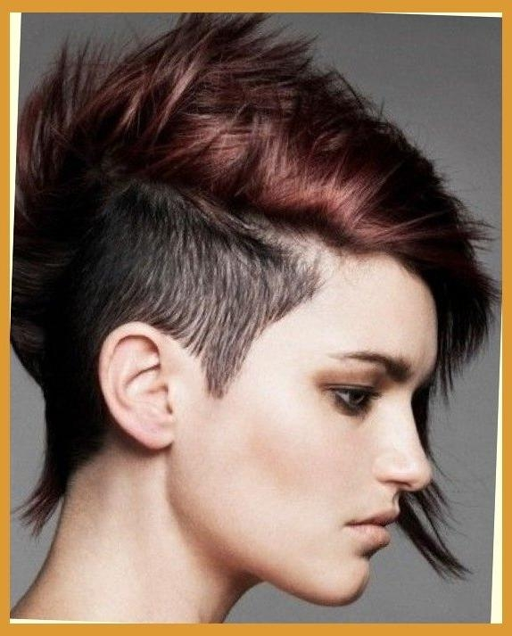 Short Punk Pixie Haircut (View 19 of 20)