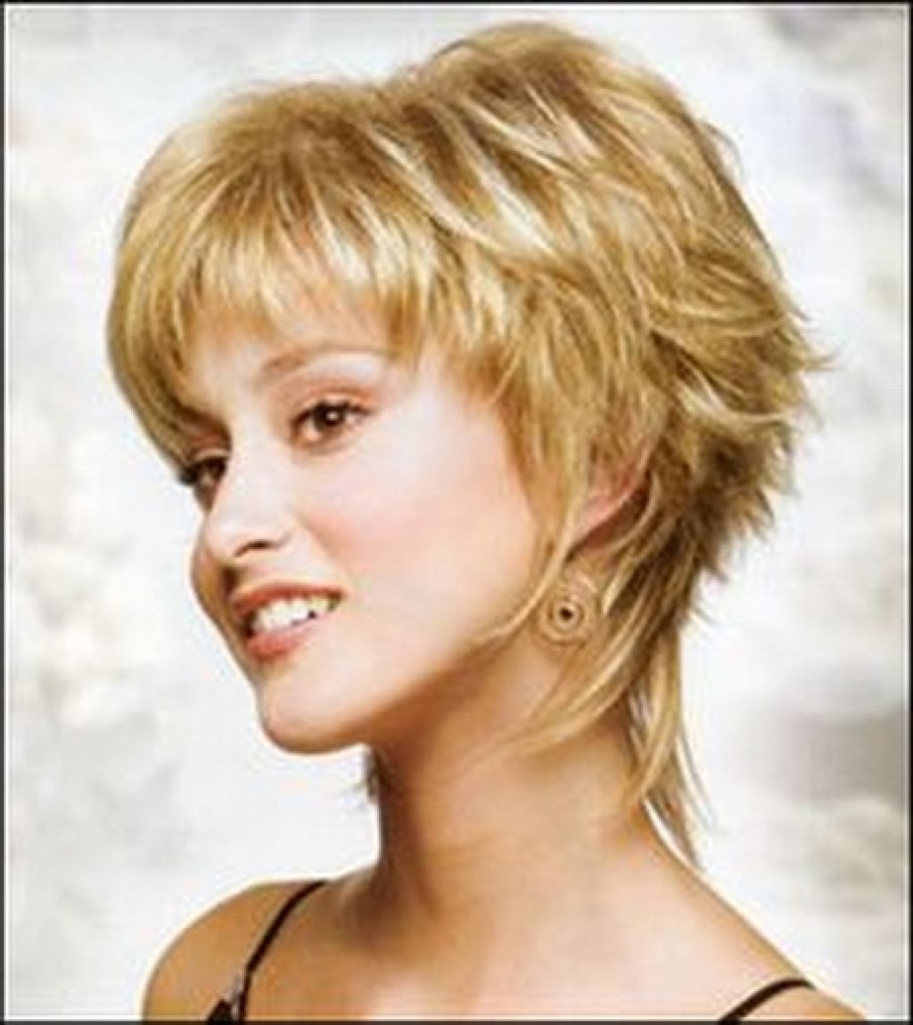 Short Shaggy Hairstyle For Women Over 40 Short Shaggy Haircuts For With Well Known Shaggy Hairstyles For Over  (View 13 of 15)