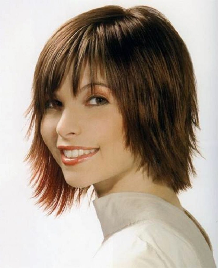 Short Side Fringe Hairstyles Inofashionstyle Fringe Short Hair Throughout Most Recent Shaggy Hairstyles With Fringe (View 15 of 15)