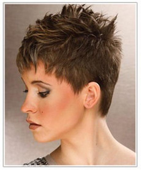 Short Spiky Haircuts For Women Over 50 – Hairstyle For Women & Man With Well Known Short Spiky Pixie Haircuts (View 15 of 20)