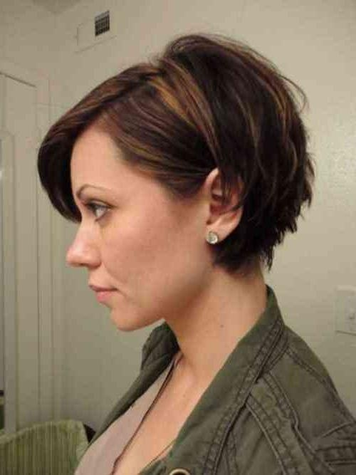 Simple Stylish Haircut Intended For Most Up To Date Bob Pixie Haircuts (View 14 of 20)